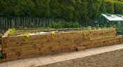 New Untreated Railway Sleepers Bedford