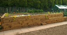 products in new untreated railway sleepers 7 new untreated oak sleeper ...
