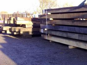 100 x 100 Air Dried Oak Beams