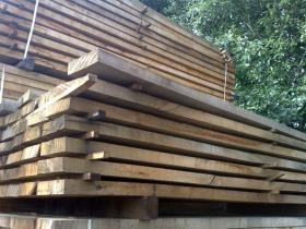 200 x 150 Air Dried Oak Beams
