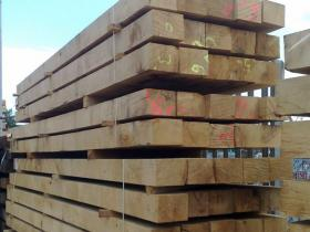 200 x 150 Green Oak Beams
