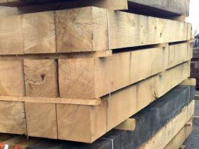 200 x 200 Green Oak Beams