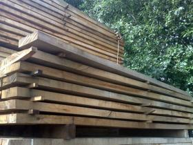 250 x 150 Air Dried Oak Beams