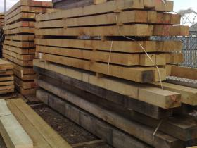 250 x 250 Green Oak Beams