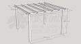 Standard Pergola Kit 3.6m x 3.6m