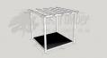 Garden Oasis - 2.4m2 Deck and 3.0m2 Pergola