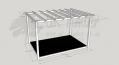 Garden Terrace - 2.4m x 3.6m Deck and 3.0m x 4.2m Pergola