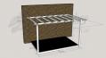 Open Varandah - 2.4m x 3.6m Deck and 3.0m x 4.2m Pergola