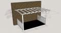 Open Porch - 2.4m x 3.6m Deck and 3.0m x 4.2m Pergola