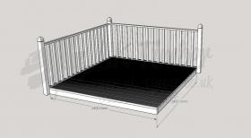 Patio Kit 2400mm x 2400mm
