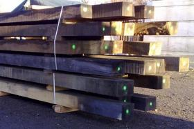 250 x 250 Air Dried Oak Beam