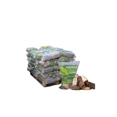 Kiln Dried Hardwood Firewood Single Bags