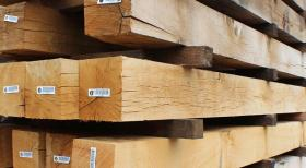 150 x 150 Air Dried Oak Beams