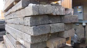 Reclaimed Untreated Crossing Timbers
