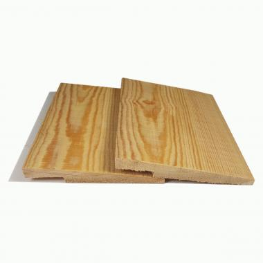 Rebated Featheredge Siberian Larch Cladding
