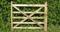 Oak Field Gate