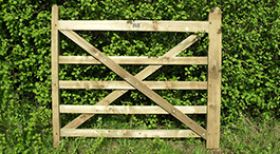 Oak Field Gate