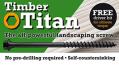 Timber Titan Landscaping Screws 100mm