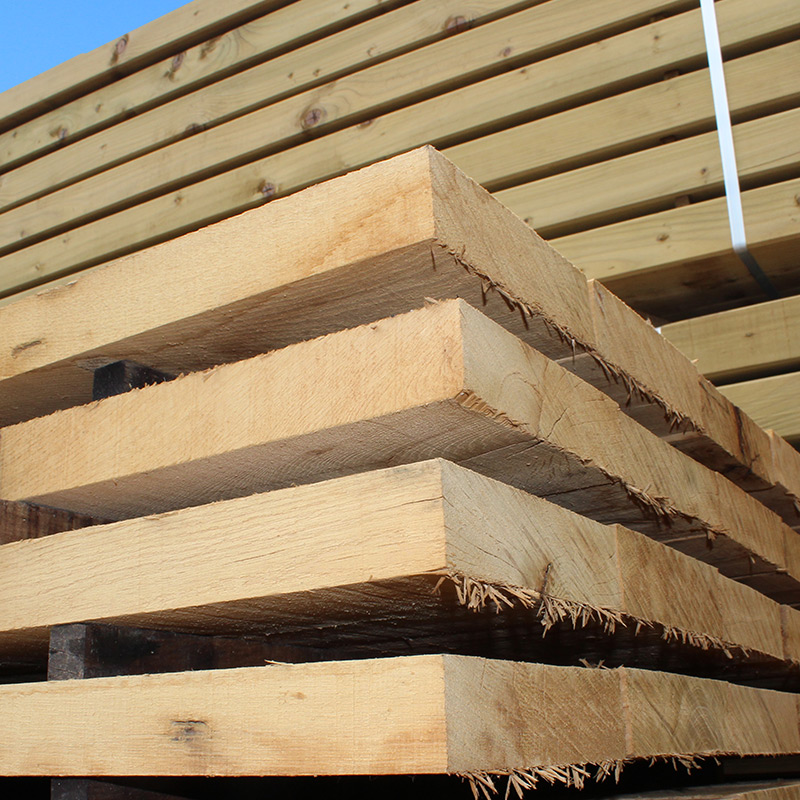 Fresh Sawn Buy New Untreated Oak Board Online Uk Sleepers