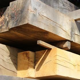 250 x 150 Air Dried Oak Beams