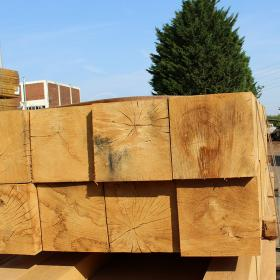 250 x 250 Green Oak Beams