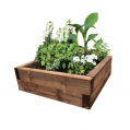 EasyFit Brown Eco Treated Softwood Raised Bed Kit