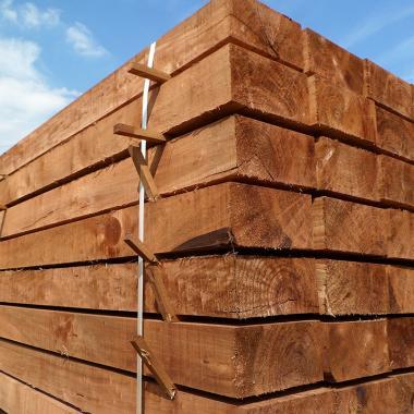 New Brown Eco Treated Softwood Sleeper