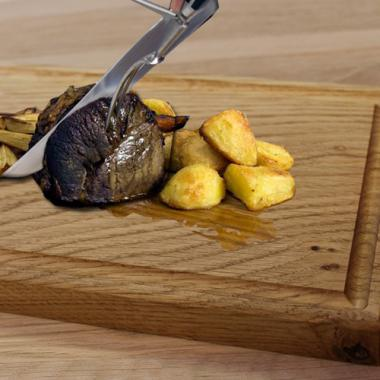 Solid Oak Carving Board