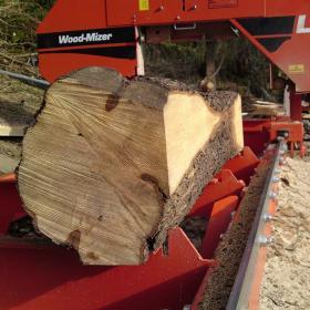 Custom Oak Milling Service