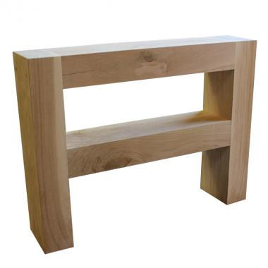Solid Oak Hall and Console Table 1200mm x 950mm