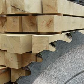Custom Milled Fresh-Sawn Oak