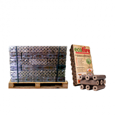 Ecofire High Density Hardwood Briquettes - FREE DELIVERY