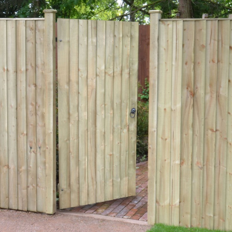 featheredge board fencing buy treated softwood. Black Bedroom Furniture Sets. Home Design Ideas