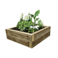 EasyFit Green Eco Treated Softwood Raised Bed Kit