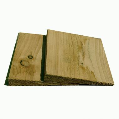 Treated Softwood Featheredge Cladding SAMPLE