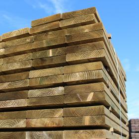 New Eco Friendly Treated Railway Sleepers Buy Planed And