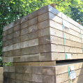 Incised Green Treated Landscaping Sleepers