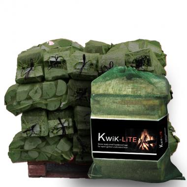Kwik-Lite Small Hardwood Logs for Chimnea or Firepit
