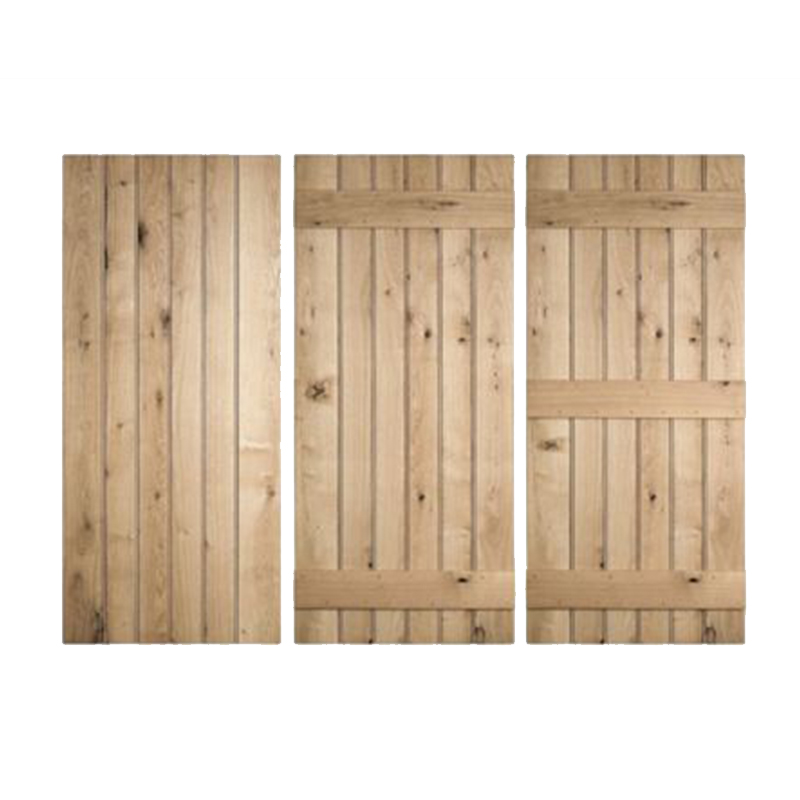 Solid Oak Doors Buy Ledged Doors Online Uk Sleepers