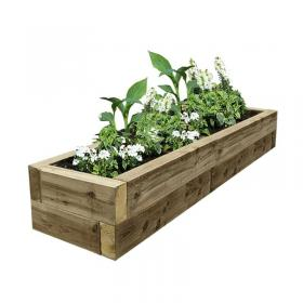 EasyFit Softwood Raised Bed 2525x725