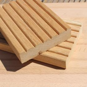 English Oak Decking Sample