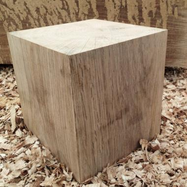 Solid Oak Cubes - Oak Beam Offcuts