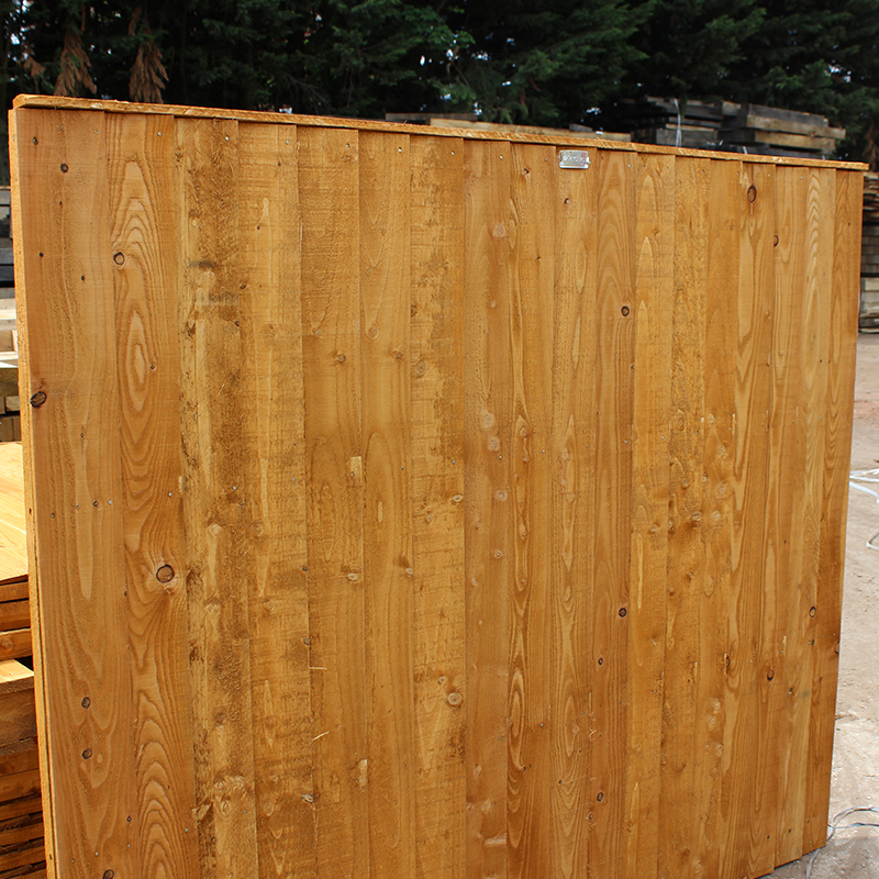 Fencing Panels And Posts Buy Brown Treated Featheredge