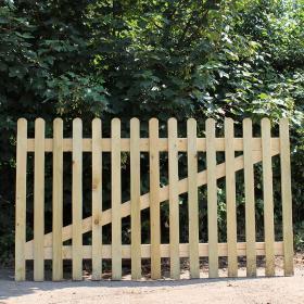 Oak Picket Panel