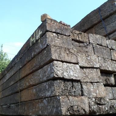 Untreated Reclaimed Tropical Hardwood Sleepers