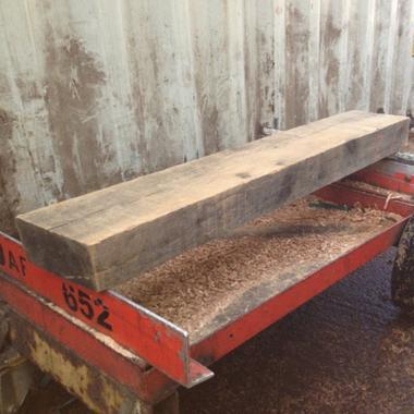 Rough Sawn Oak Mantel Pieces For Fireplace Surrounds