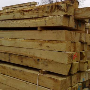 Rustic Oak Posts
