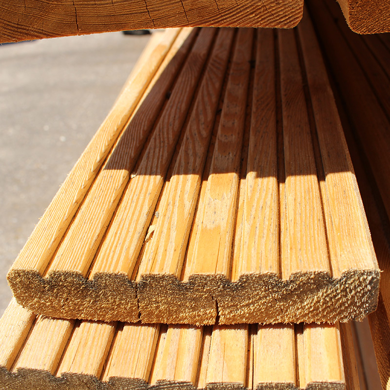 Decking Boards Buy Siberian Larch Decking 145mm Online