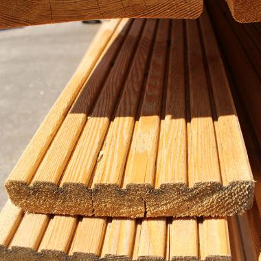 Siberian Larch Decking 145mm