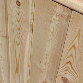 Siberian Larch Tongue and Groove Cladding